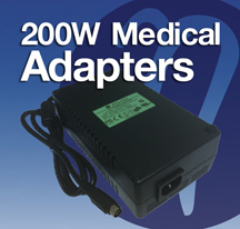 Adapters, 200W, Medical Adapters
